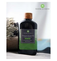 Shampoo Charcoal Daily Detoxifying Herbal 150 ml - Thank U Earth