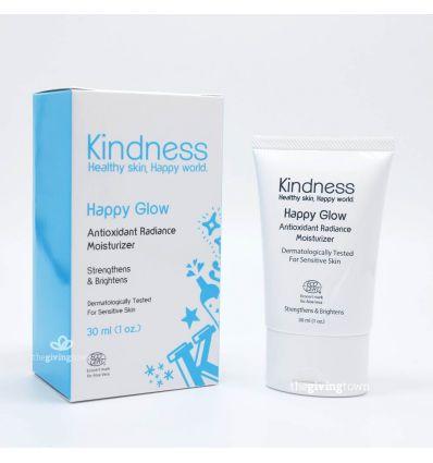 ครีมสำหรับผิวแพ้ง่าย Kindness Happy Glow Antioxidant Radiance Moisturizer
