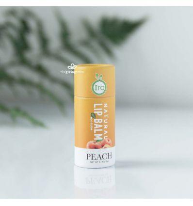 Ira - Peach ลิปบาล์มธรรมชาติแบบแท่ง eco กลิ่นพีช