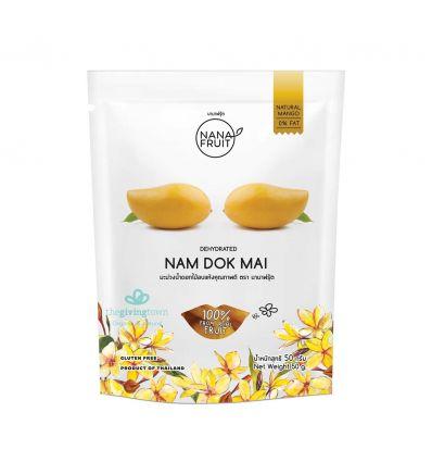 มะม่วงน้ำดอกไม้อบแห้ง นานาฟรุ้ต - Nana Fruit
