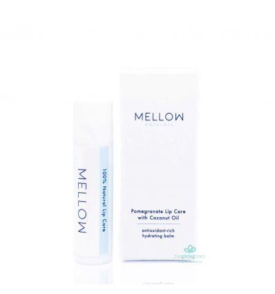 ลิปบาล์ม Mellow Natural - Pomegranate Lip Care with Coconut Oil