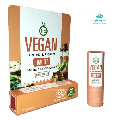 ลิปสี Ira Vegan Tinted Lip Balm: Thai Tea
