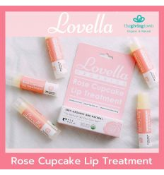 ลิปบาล์ม Lovella Organics - Rose Cupcake Lip Treatment