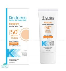 ครีมกันแดด Kindness Freedom Invisible Water Fresh Sunscreen SPF50+ PA++++
