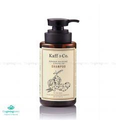 แชมพูสารสกัดเหง้าขิง สกัดเย็น 300 มล. - Kaff & Co