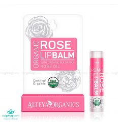 Alteya Organic Lip Balm - Rose