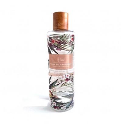 แชมพูสูตรน้ำมันมะพร้าวและน้ำนมข้าว - Sense of Nature
