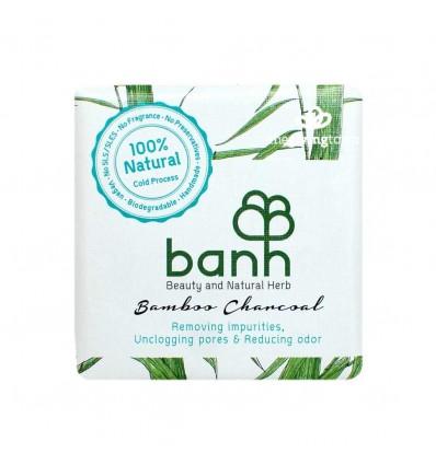 banh - สบู่สมุนไพรถ่านไม้ไผ่ 100 กรัม