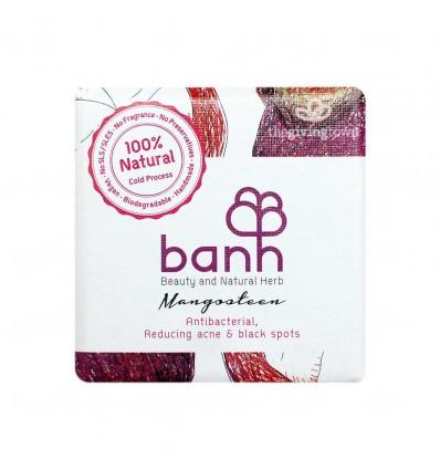 banh - สบู่สมุนไพรเปลือกมังคุด 100 กรัม