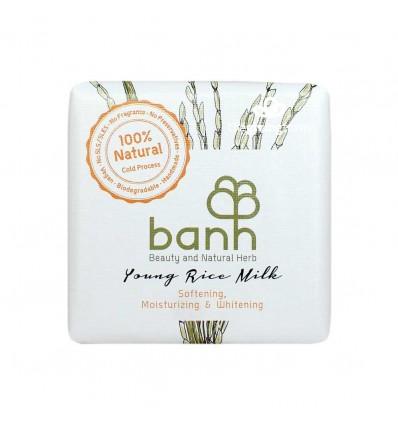 banh - สบู่สมุนไพรน้ำนมจมูกข้าว 100 กรัม