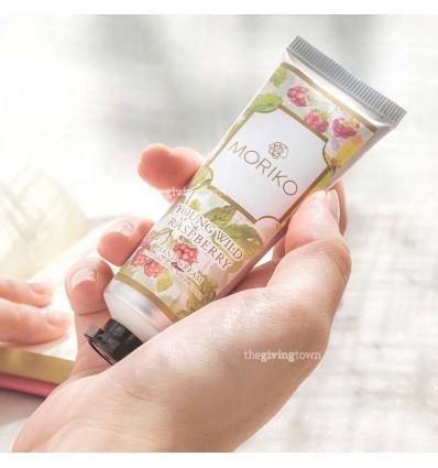 ครีมทามือ กลิ่น Young Wild Raspberry - Moriko