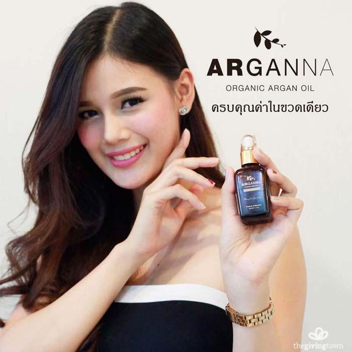 น้ำมันอาร์แกน ออร์แกนิค Arganna argan oil