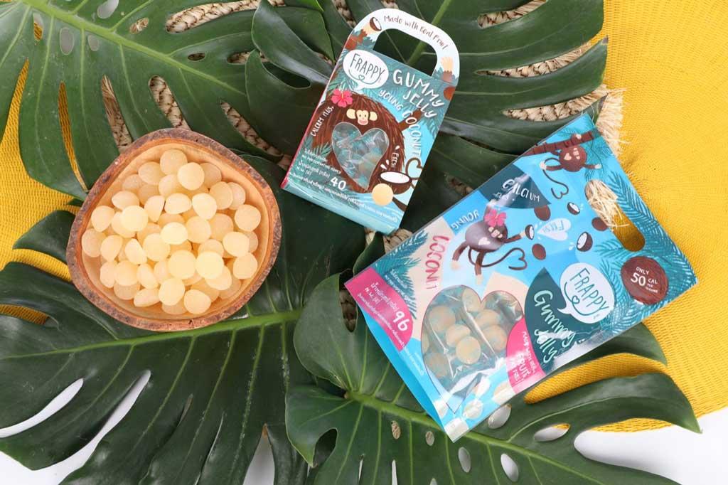frappy gummy jelly coconut