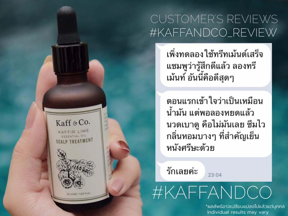 Kaff and Co treatment Customer Review