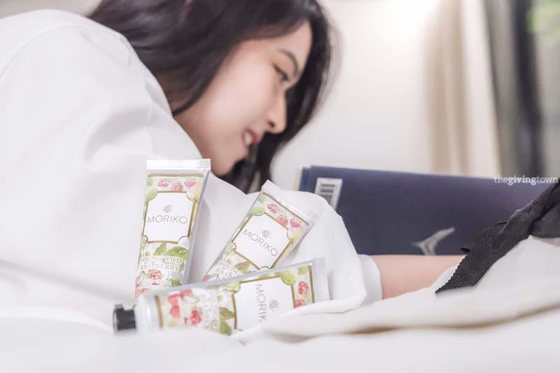 โลชั่นทามือ Moriko Hand Cream