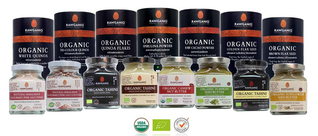 Rawganiq 100% certified organic products